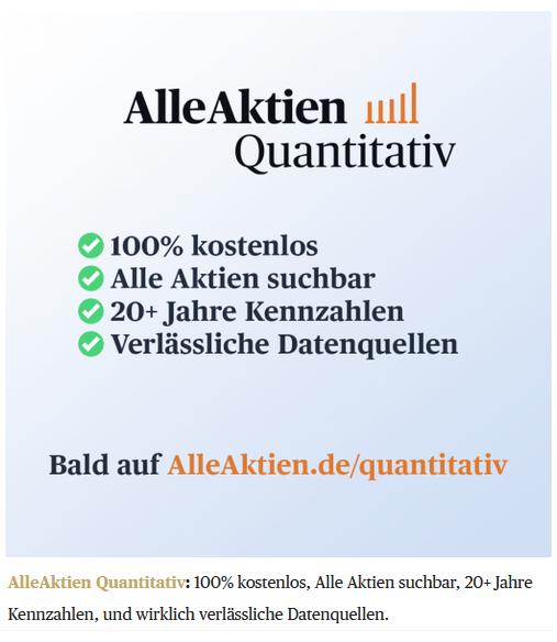AlleAktien Quantitativ