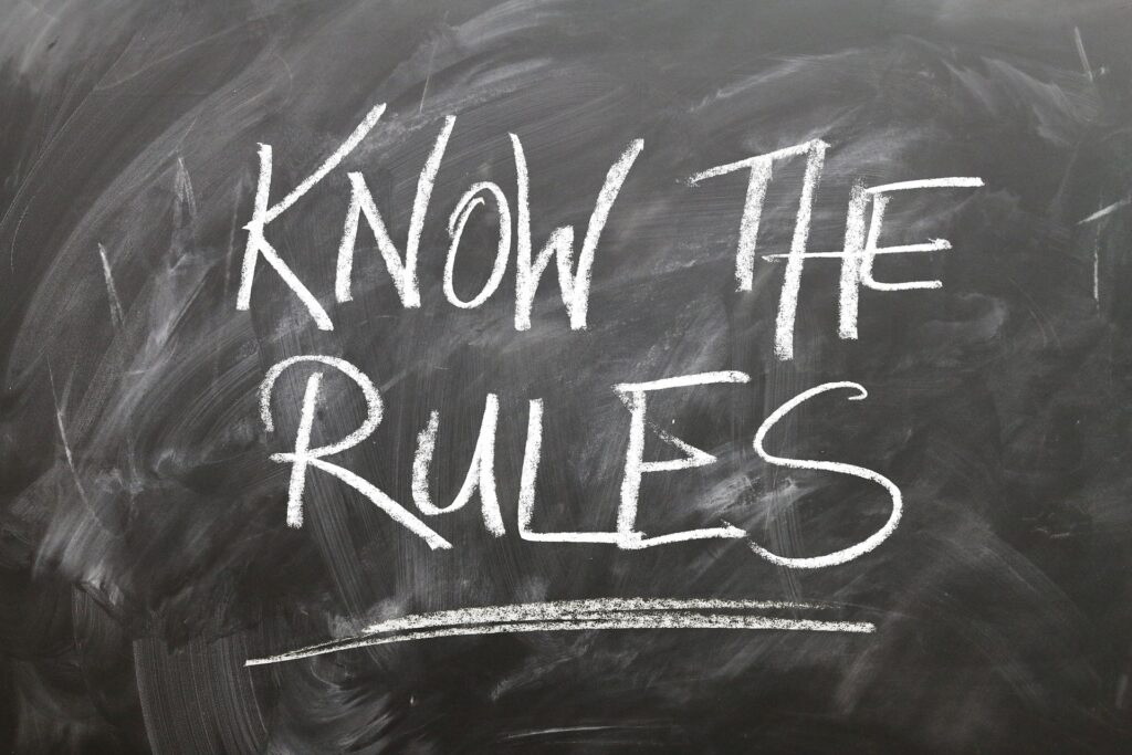 Regeln helfen Dir